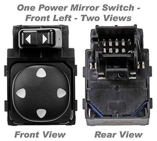 APDTY 012251 Power Mirror Adjust Switch Fits Front Left 2000-2005 Chevy Impala / 2000-2005 Chevy Monte Carlo (Replaces 10283839) -