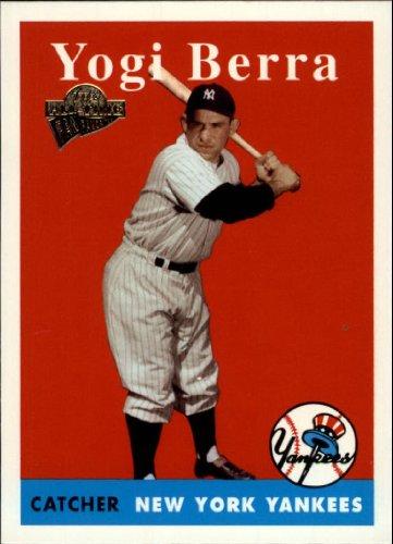 Yogi Berra Card (2003 Topps All-Time Fan Favorites Baseball Card #80 Yogi Berra Mint)