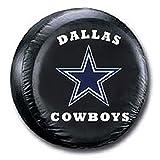 dallas cowboys tire cover - Dallas Cowboys NFL Spare Tire Cover (Black)