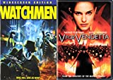 V for Vendetta VS The Watchmen DVD - Alan Moore Comic movie 2 Set