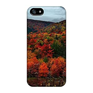 New Arrival Premium 5/5s Case Cover For Iphone (beautiful Fall Colors Forest)