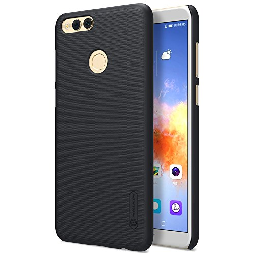 Huawei Honor 7X Case Nillkin Slim Thin Back Cover Case with Anti Slip Frosted Finish and Screen Flim for Honor 7X Black
