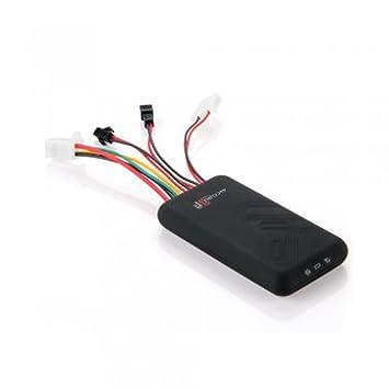 Mini coche GPS Tracker dispositivo de seguimiento GSM GPRS SOS alarma portátil antenas de nuevo vehículo en tiempo real: Amazon.es: Electrónica