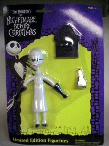 NECA Tim Burton's The Nightmare Before Christmas Limited Edition Bendable Fig... (Nightmare Toys Christmas Evil Before)