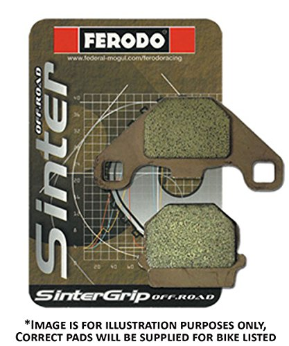 Ferodo fdb2156st Brake Pads Sinter Grip Road (Brake Pads Moto)/Brake Pads fdb2156st Sinter Grip Road (Motorcycle Brake Pads):