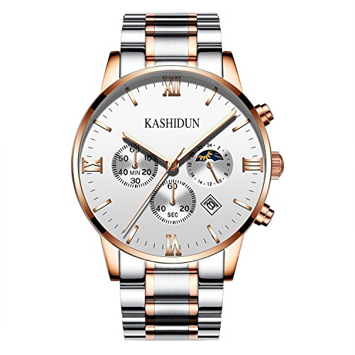 KASHIDUN.Men's Luxury Watches Sports Fans Watches Wrist Watch Swiss Army Waterproof Casual Watches-Gold.ZH-JBG
