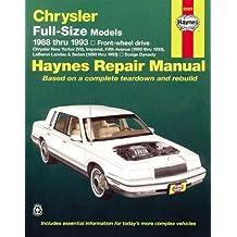 Chrysler Full-Size Models, 1988-1993
