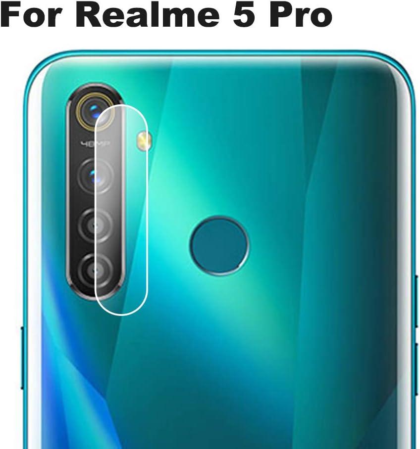 NOKOER Protector Cámara para Realme 5 Pro, [3 Pack] Protector de ...