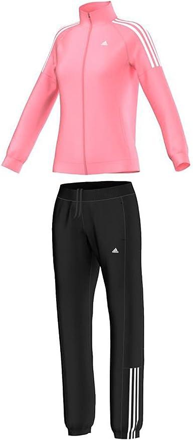 adidas Frieda Suit - Chándal para Mujer, Color Rosa/Blanco, Talla ...