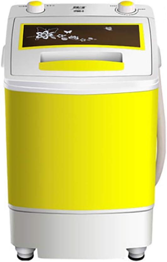 Mini Lavadora PortáTil Lavadora SemiautomáTica con DeshidratacióN Desmontable Cesta Lavadora De NiñOs del Hogar, EsterilizacióN De BLU-Ray Capacidad De Lavado-4.5kg / 9.9lbs