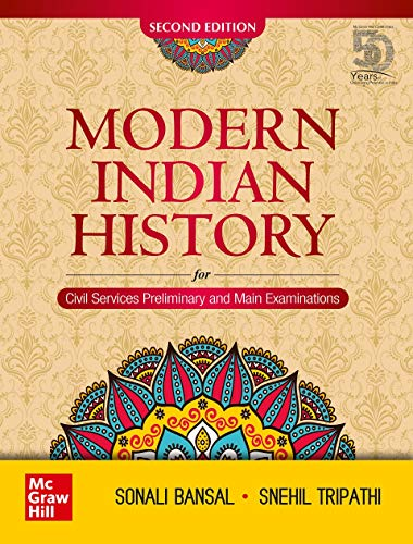 Modern Indian History - Second Edition   For Civil Services Preliminary and Main Examinations