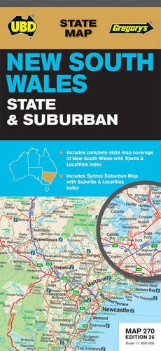 New South Wales State and Suburban Map 270