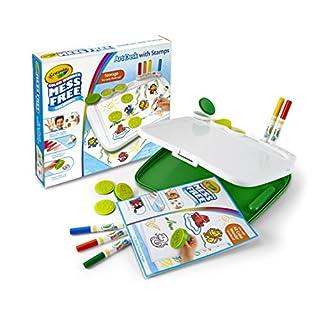 Crayola Color Wonder Mess Free Art Desk with Stamps, Kids Indoor Activities At Home, Over 20 Pieces, Gift