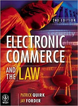 Book Electronic Commerce and the Law