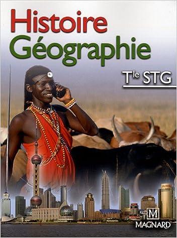 En ligne téléchargement gratuit Histoire Géographie Tle STG pdf, epub