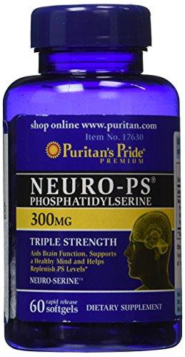 Puritans Pride Neuro-ps 300 Mg Softgels, 60 Count