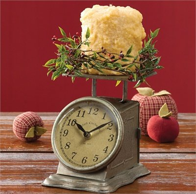 Park Designs Liberty Postage Scale Table Clock