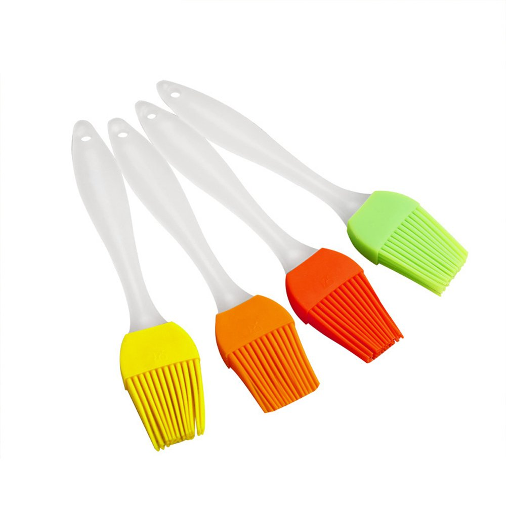 Yinggui Silicone Pastry Brush Heat-Resistant Baking Barbecue Brush Random Color One Piece