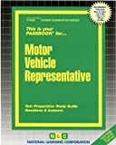 Motor Vehicle Representative(Passbooks) (Career Examination Series)