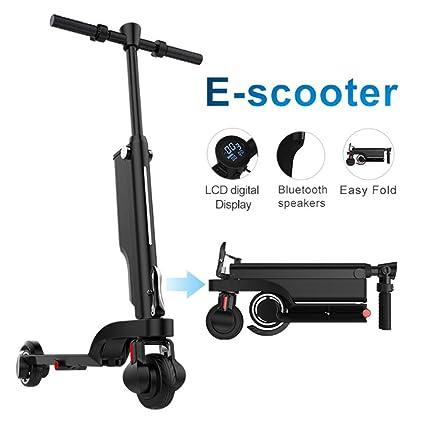 Scooter eléctrico Plegable para Adultos, Mini Scooter ...