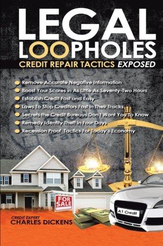 legal loopholes credit repair tactics exposed pdf