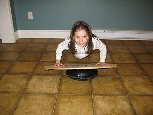 Indo Board Balance Board Mini Original Training Kit for Kids - Balance Board, Roller and Cushion by Indo Board Balance Trainers (Image #2)
