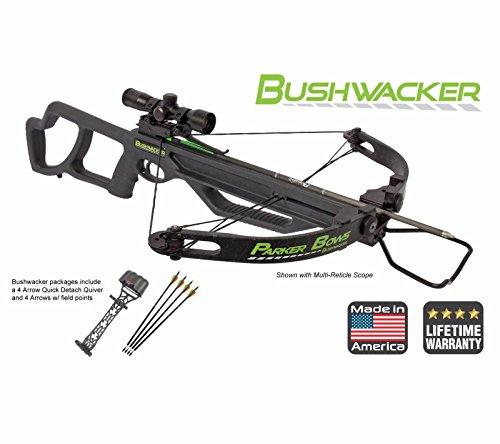 Parker Bushwacker Crossbow Pkg, 4x MR Scope