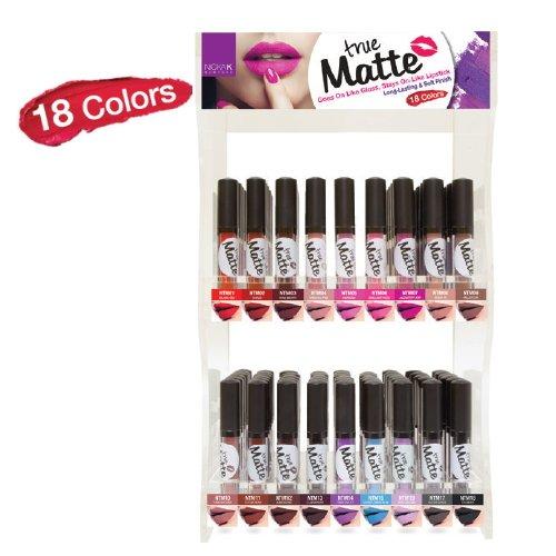 NICKA K True Matte Lip Color Display Case Set 108 Pieces by Nicka K