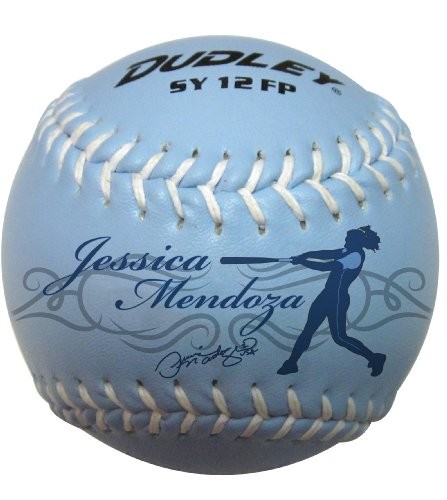 Dudley 12'' Jessica Mendoza Training Ball Synthetic Fastpitch Softball - pack of 12 by Spalding