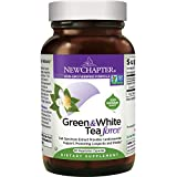 New Chapter Green Tea Supplement – Green and White Tea Force for Healthy Aging, Longevity + Energy + Non-GMO Ingredients – 60 ct Vegetarian Capsules For Sale