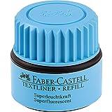 Faber-Castell 1549 Recharge AUTOMATIC REFILL pour surligneur 48, 30 ml (Bleu)