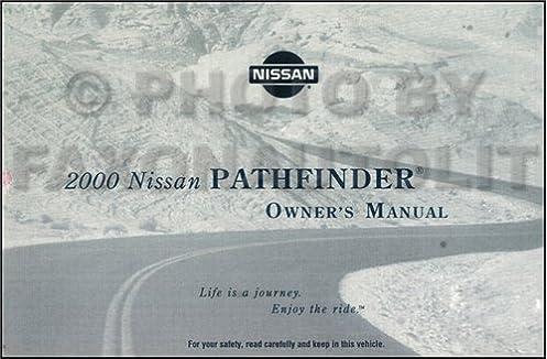 2000 nissan pathfinder owner s manual original nissan amazon com rh amazon com 2005 Pathfinder Exhaust System 2014 Nissan Frontier Truck