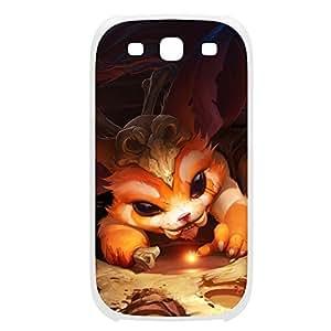 Gnar-001 League of Legends LoL case cover Iphone 4/4S Plastic White