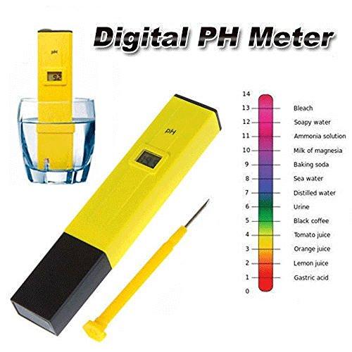 Brand New Digital PH Meter Tester Pocket Portable Pool Water Aquarium Hydroponic Wine by Brand new