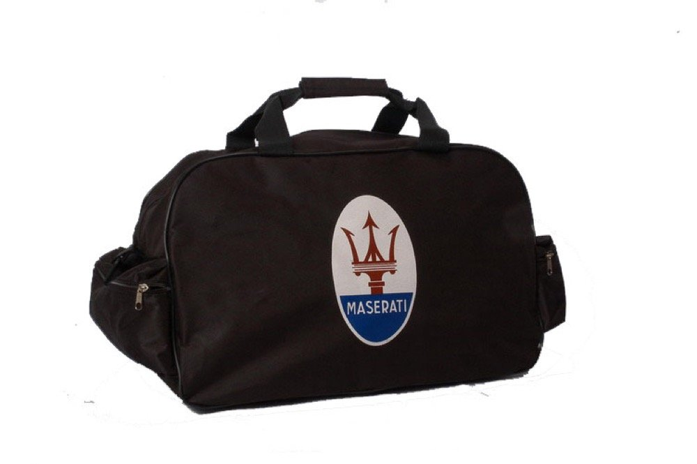 Maserati Logo Duffle Travel Sport Gym Bag Backpack