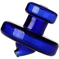 2 tapas de cristal para carbohidratos de cuarzo Banger para clavo de cuarzo sin domo Banger con sujeción para tubo de…
