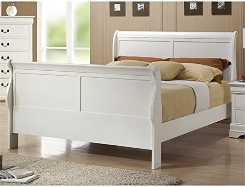 BOWERY HILL Full Sleigh Bed