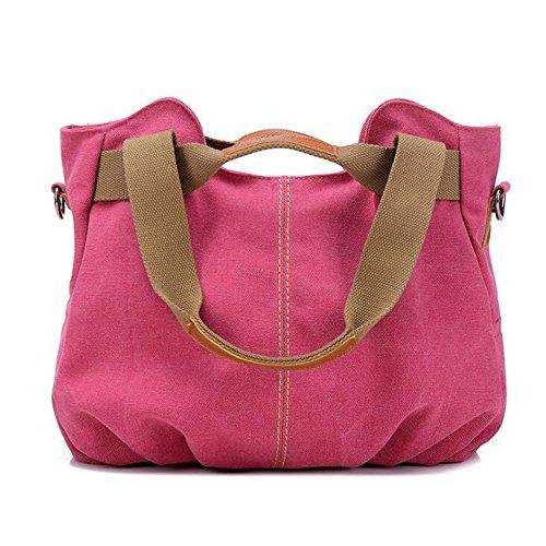 Tela S Size Tracolla color Pink Borse Di Hemotrade A Green Messenger fXSzw