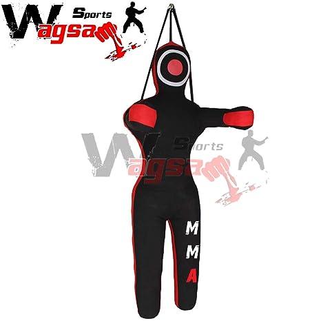 Wagsam Sports Grappling BJJ Dummy Punch Bag Martial Arts kick Boxing Training