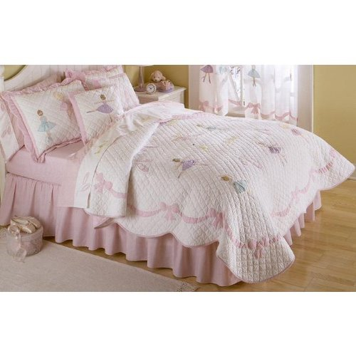 Ballet Lessons Quilt Set (Full/Queen)