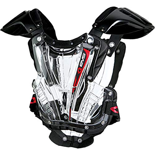 EVS Vex Chest Protector (SMALL) (CLEAR/BLACK)