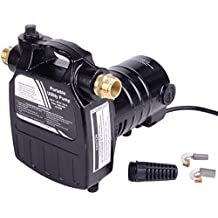 Trupow 1/2HP 1450GPH 115-Volt Cast Iron Portable Electric Power Utility Transfer Water Pump with Suction Strainer and Kits