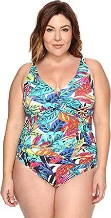 Lauren Ralph Lauren Women's Plus Size Rainforest Over The