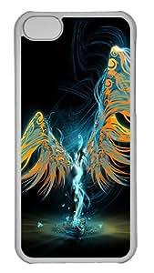 iPhone Cases, iPhone 5C Case, iPhone 5C Cases The Angel iPhone 5C Hard Case - Polycarbonate - Transparent