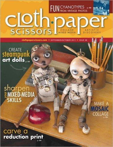 Cloth Paper Scissors Magazine, September-October - Scissors Magazine