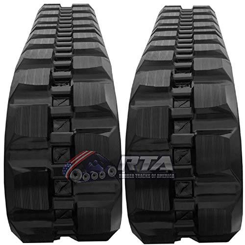 - Two Rubber Tracks for Takeuchi TL230 TL230-2 TL8 TL130 320X86X52 Block Tread 13