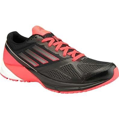 Adidas Women's Spider Lite Running Shoes Black/Red Zest/Metallic Silver (7.5 B(M) US, Black/Red Zest/Metallic Silver)