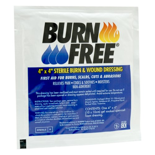Amazon.com: Burn Free Emergency Burn Kit: Health & Personal Care