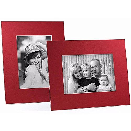 Amazoncom Redwhite Core Bevel Cut Easel 5x7 Frame Paper Stock