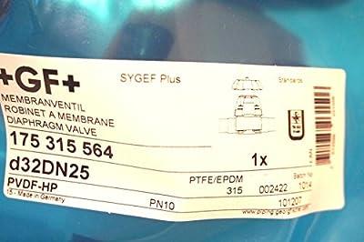 New Georg Fischer 175.315.564 Diaphragm Valve 175315564 by Generic